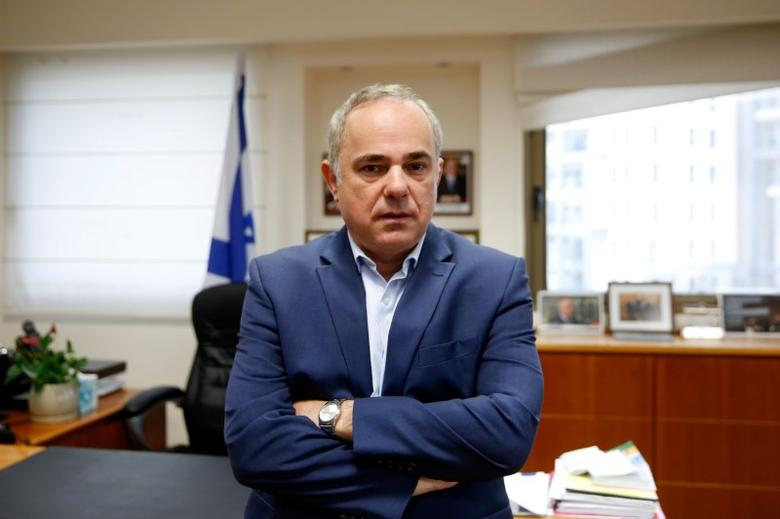 Israel's Energy Minister Yuval Steinitz poses for a photograph during an interview with Reuters, in Jerusalem November 16, 2016. REUTERS/Ronen Zvulun/Files