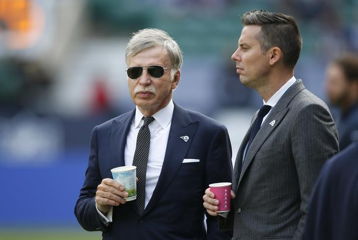 Britain American Football - Los Angeles Rams v New York Giants - NFL International Series - Twickenham Stadium, London, England - 23/10/16Los Angeles Rams and Arsenal owner Stan Kroenke before the match Action Images via Reuters / Paul ChildsLivepic