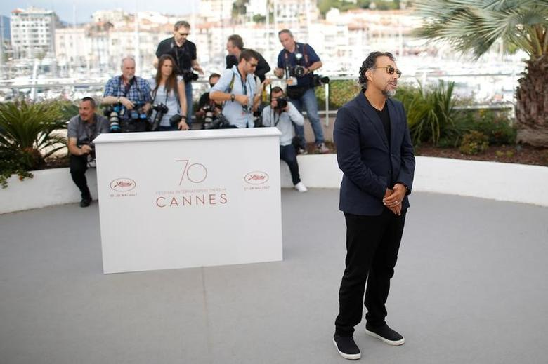 70th Cannes Film Festival - Photocall for the installation ''Carne y Arena'' (virtually present, physically invisible) presented as part of virtual reality event - Cannes, France. 22/05/2017.  REUTERS/Stephane Mahe