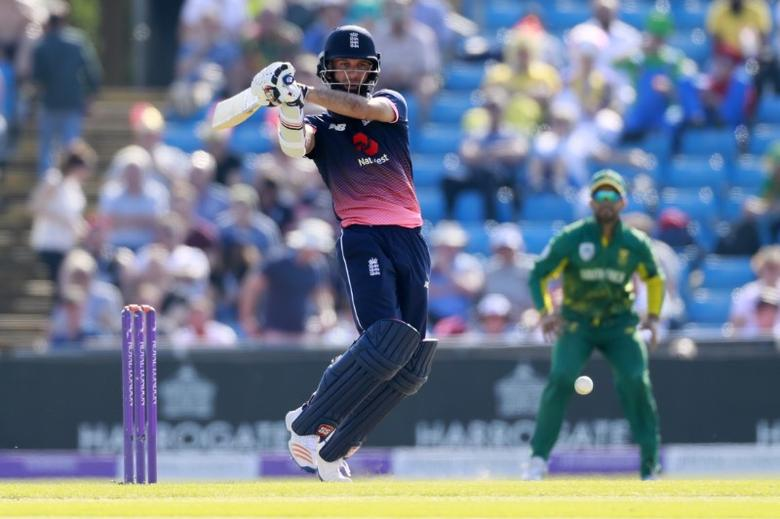 Britain Cricket - England v South Africa - First One Day International - Headingley - 24/5/17 England's Moeen Ali in action Action Images via Reuters / Jason Cairnduff Livepic