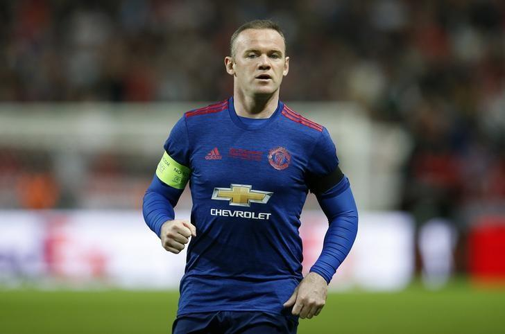 Football Soccer - Ajax Amsterdam v Manchester United - UEFA Europa League Final - Friends Arena, Solna, Stockholm, Sweden - 24/5/17 Manchester United's Wayne Rooney Reuters / Andrew Couldridge Livepic