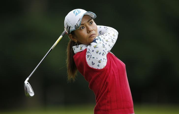 Britain Golf - RICOH Women's British Open 2016 - Woburn Golf & Country Club, England - 28/7/16Japan's Ai Miyazato during the first roundAction Images via Reuters / Andrew CouldridgeLivepic/Files