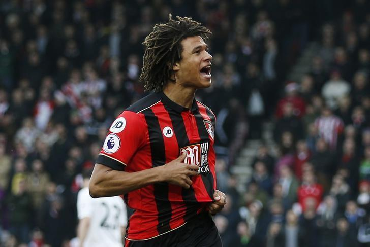 Britain Football Soccer - AFC Bournemouth v Southampton - Premier League - Vitality Stadium - 18/12/16 Bournemouth's Nathan Ake celebrates scoring their first goal Action Images via Reuters / Andrew Couldridge/ Livepic/ Files
