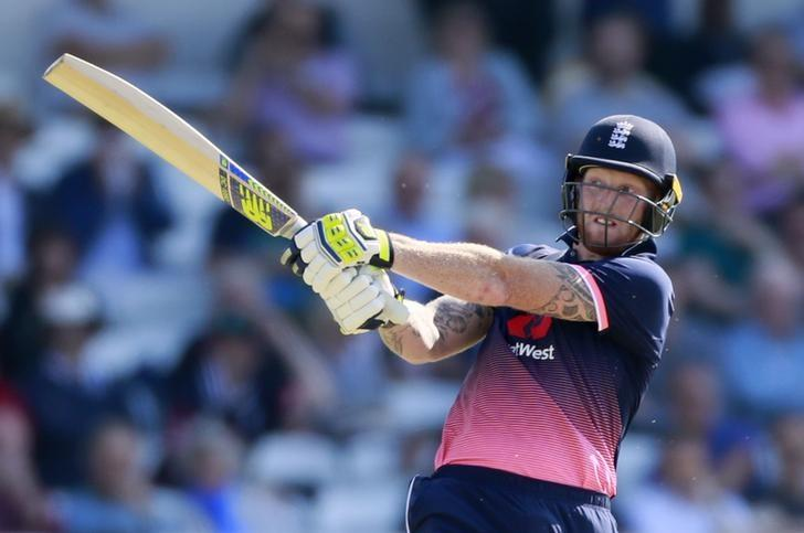 Britain Cricket - England v South Africa - First One Day International - Headingley - 24/5/17 England's Ben Stokes in action before losing his wicket Action Images via Reuters / Jason Cairnduff Livepic