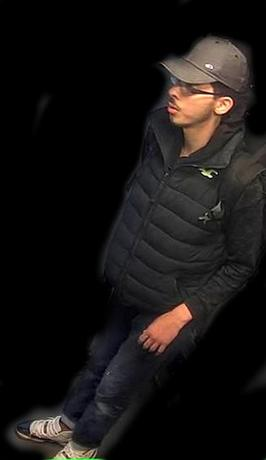 Salman Abedi, the bomber behind the Manchester suicide bombing, is seen in this image taken from  CCTV on the night he committed the attack in this handout photo released to Reuters on May 27, 2017. Greater Manchester Police/Handout via Reuters