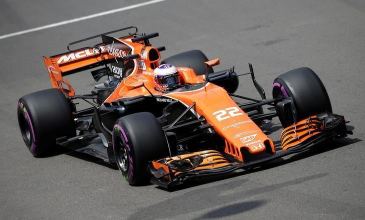 Formula One - F1 - Monaco Grand Prix - Monaco - 25/05/2017 - McLaren's Jenson Button in action during the first free practice session.  REUTERS/Max Rossi