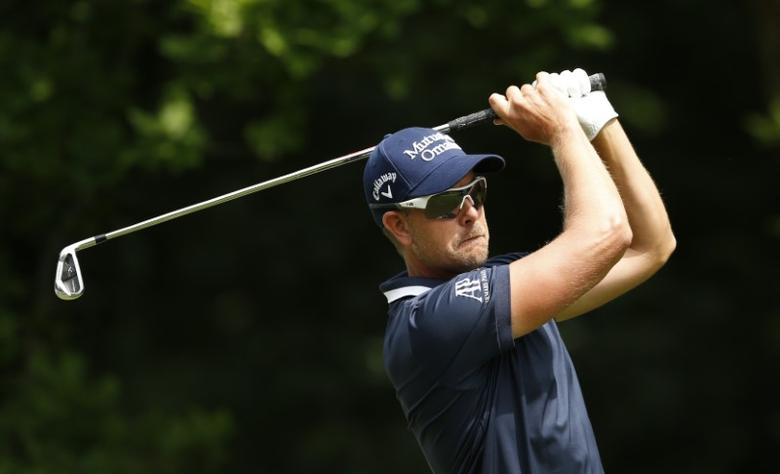 Britain Golf - BMW PGA Championship - Wentworth Club, Virginia Water, Surrey, England - 28/5/17 Sweden's Henrik Stenson in action during the final round Action Images via Reuters / Andrew Boyers Livepic