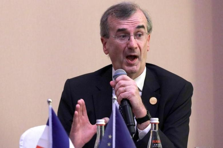 Governor of the Bank of France Francois Villeroy de Galhau attends a news conference held at the close of the G20 Finance Ministers and Central Bank Governors meeting in Chengdu in Southwestern China's Sichuan province, Sunday, July 24, 2016.  REUTERS/Ng Han Guan/Pool