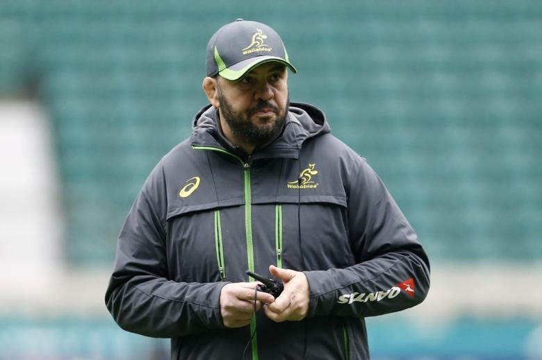 Britain Rugby Union - Australia Captain's Run - Twickenham Stadium - 2/12/16 Australia head coach Michael Cheika during the Captain's Run Action Images via Reuters / Andrew Boyers Livepic