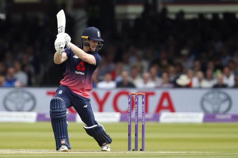 Britain Cricket - England v South Africa - Third One Day International - Lord's - 29/5/17 England 's Eoin Morgan in action Action Images via Reuters / Andrew Couldridge Livepic