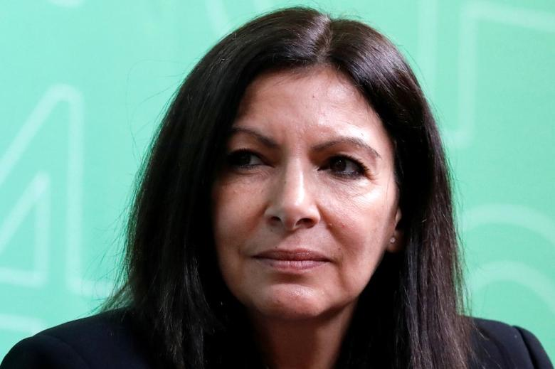 FILE PHOTO: Paris Mayor Anne Hidalgo, attends the C40 Cities Women4Climate event in New York City, U.S. March 15, 2017. REUTERS/Brendan McDermid