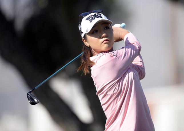 6月2日、女子ゴルフのリディア・コ(ニュージーランド)が、84週に渡って守ってきた世界ランク1位の座を4日に失うことが決定的となった。3月撮影(2017年 ロイター/Gary A. Vasquez-USA TODAY Sports)