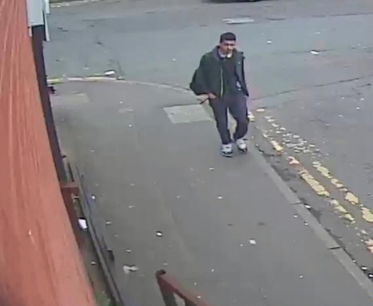 Salman Abedi, who has been identified as the suicide bomber who attacked concert goers at the Manchester Arena; is seen in Manchester before the attack in a picture taken from closed circuit television between May 18 and 22, 2017 and handed out by Greater Manchester Police in appeal for more information about his movements. Greater Manchester Police handout via REUTERS