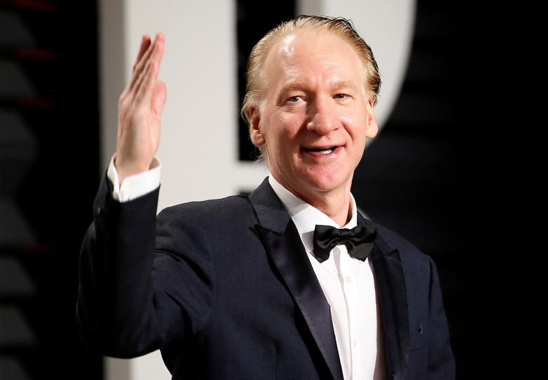 FILE PHOTO: Comedian Bill Maher during the 89th Academy Awards Oscars Vanity Fair Party in Beverly Hills, California, U.S., February 26, 2017. REUTERS/Danny Moloshok/File Photo