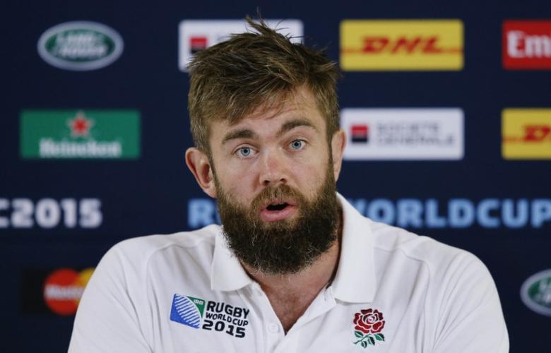 Rugby Union - England Press Conference - Pennyhill Park, Bagshot, Surrey - 5/10/15England's Geoff Parling during the press conferenceAction Images via Reuters / Peter CziborraLivepic