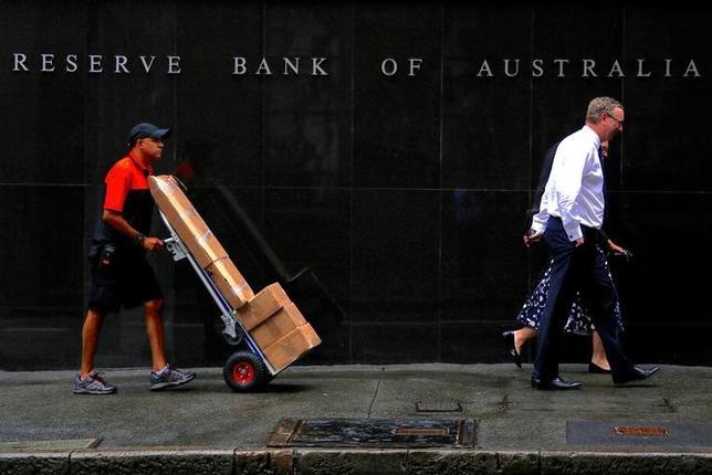 6月6日、オーストラリア準備銀行(RBA、写真)は、政策金利のオフィシャルキャッシュレートを過去最低の1.50%に据え置くことを決定した。3月撮影(2017年 ロイター/David Gray)