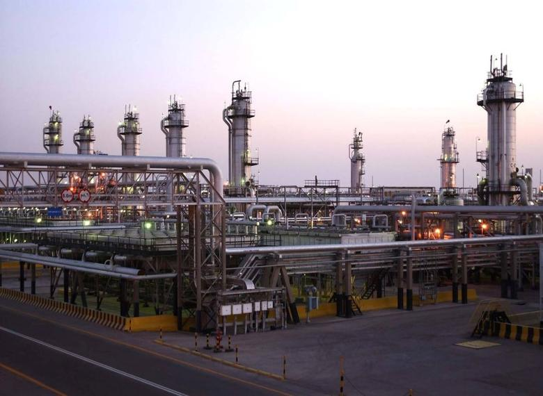 A view shows Saudi Aramco's Abqaiq oil facility in eastern Saudi Arabia in this undated handout photo. Saudi Aramco/Handout via REUTERS
