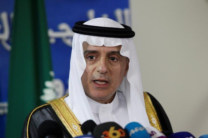 Saudi Arabia's Foreign Minister Adel bin Ahmed Al-Jubeir speaks during a news conference in Rabat, May 8, 2017. REUTERS/Stringer/Files