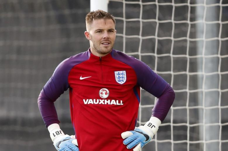 Britain Football Soccer - England Training - St. George's Park, Burton upon Trent - June 6, 2017 England's Jack Butland during training Action Images via Reuters / Carl Recine Livepic