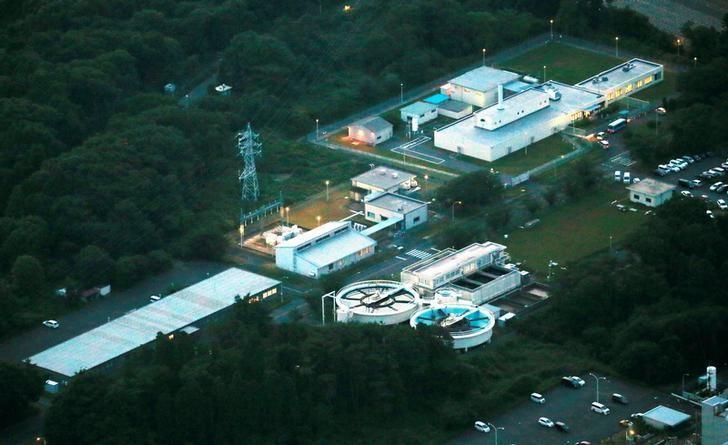 Japan Atomic Energy Agency's (JAEA) Oarai Research and Development Center is seen in Oarai, Ibaraki Prefecture, Japan in this photo taken by Kyodo June 6, 2017. Picture taken June 6, 2017.  Mandatory credit Kyodo/via REUTERS