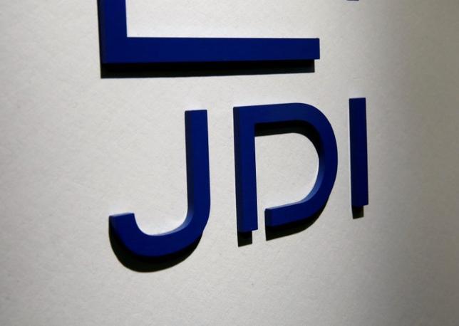 6月7日、ジャパンディスプレイ(JDI)は、有機ELディスプレーの開発会社JOLEDの子会社化を延期すると発表した。写真はJDIのロゴ、2016年8月都内で撮影(2017年 ロイター/Kim Kyung-Hoon)