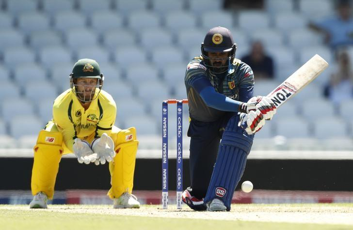 Britain Cricket - Australia v Sri Lanka - ICC Champions Trophy Warm Up Match - The Oval - 26/5/17 Sri Lanka's Chamara Kapugedera in action Action Images via Reuters / John Sibley/ Livepic/ Files