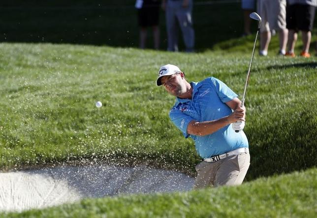 6月8日、米国ゴルフ協会(USGA)は、世界ランキング42位のライアン・ムーア(34、米国)が未公表のけがにより、米ウィスコンシン州で行われる全米オープン(15日開幕)を欠場することを発表した。1日撮影(2017年ロイター/Joe Maiorana-USA TODAY Sports)