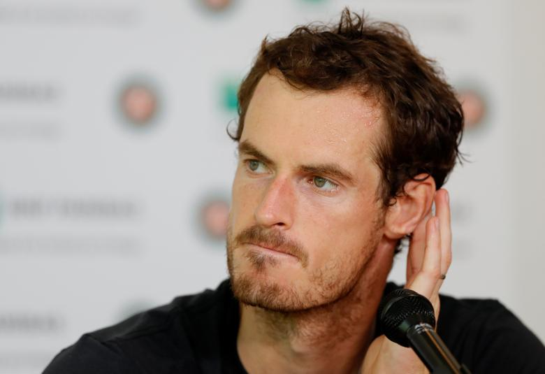Tennis - French Open - Roland Garros, Paris, France - June 9, 2017   Great Britain's Andy Murray looks dejected during a press conference after losing his semi final match against Switzerland's Stan Wawrinka   Reuters / Gonzalo Fuentes