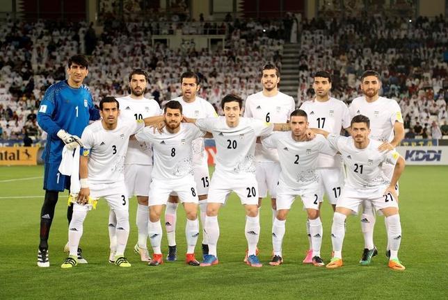 6月11日、サッカーのワールドカップ(W杯)アジア最終予選は、12日にA組のゲームが行われ、イランが勝利すればアジアで一番乗りとなるW杯への出場を決める。3月にカタールで撮影(2017年ロイター/Ibraheem Al Omari)