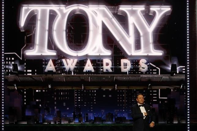 71st Tony Awards – Show – New York City, U.S., 11/06/2017 - Host Kevin Spacey. REUTERS/Carlo Allegri