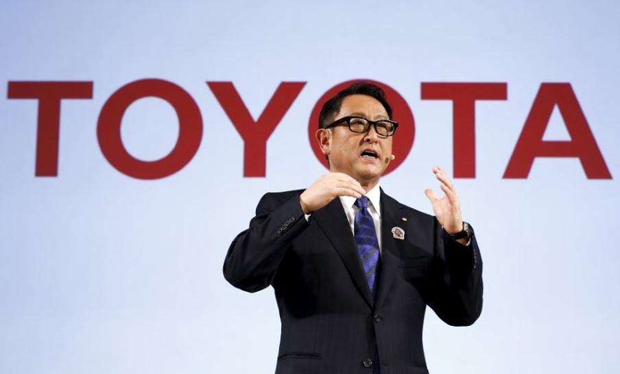 Toyota chief says may consider acquisitions to gain auto tech access