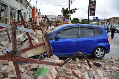 Quake strikes Mexico-Guatemala border
