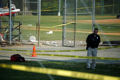 Congressman shot at baseball game