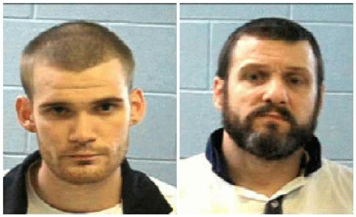 Two escaped inmates Ricky Dubose (L) and Donnie Russell Rowe (R) are seen in these Georgia Department of Corrections photos released after their escape from Putnam County, southeast of Atlanta, Georgia, U.S. on June 13, 2017.   Courtesy Georgia Corrections/Handout via REUTERS