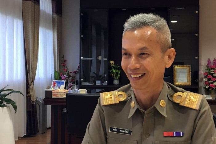Pongporn Pramsaneh, kepala Badan Buddhisme Nasional.
