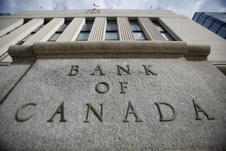 A sign is pictured outside the Bank of Canada building in Ottawa, Ontario, Canada, May 23, 2017. REUTERS/Chris Wattie