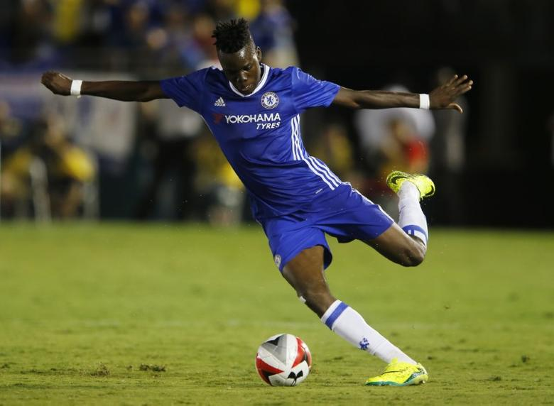FILE PHOTO: Football Soccer - Liverpool v Chelsea - International Champions Cup - Rose Bowl, Pasadena, California, United States of America - 16/17 - 27/7/16. Chelsea's Bertrand Traore. Reuters / Mike Blake