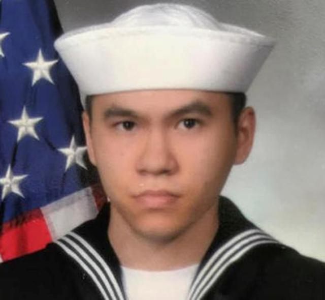 Sonar Technician 3rd Class Ngoc T Truong Huynh, 25, from Oakville, Connecticut, one of the dead sailors identified by the U.S. Navy from a collision between the U.S. Navy destroyer USS Fitzgerald and Philippine-flagged merchant vessel, is seen in this undated handout photo released by the U.S. Navy on June 19, 2017. Courtesy of U.S. Navy/Handout via REUTERS