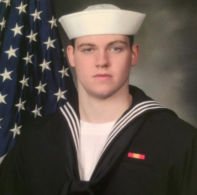 Gunner's Mate Seaman Dakota Kyle Rigsby, 19, from Palmyra, Virginia, one of the dead sailors identified by the U.S. Navy from a collision between the U.S. Navy destroyer USS Fitzgerald and Philippine-flagged merchant vessel, is seen in this undated handout photo released by the U.S. Navy on June 19, 2017. Courtesy of U.S. Navy/Handout via REUTERS