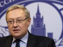 سيرجي ريابكوف نائب وزير الخارجية الروسي في صورة من أرشيف رويترز.