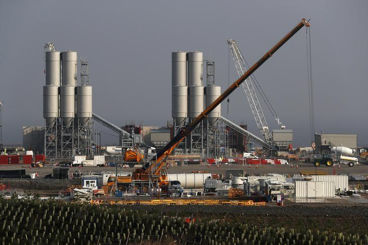 Hinkley Point C nuclear power station site is seen near Bridgwater in Britain, September 14, 2016. REUTERS/Stefan Wermuth/File Photo