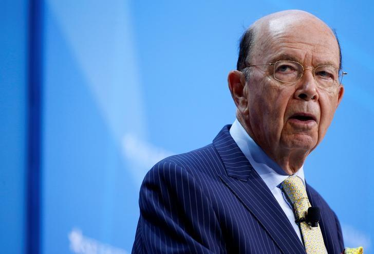 U.S. Secretary of Commerce Wilbur Ross speaks at 2017 SelectUSA Investment Summit in Oxon Hill, Maryland, U.S., June 19, 2017.   REUTERS/Joshua Roberts