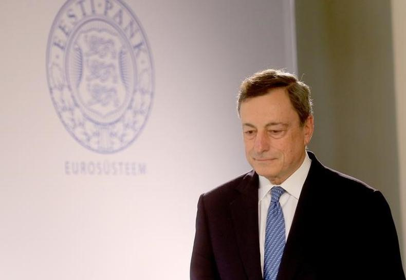 Euro, bond yields fall after sources say Draghi comments overinterpreted