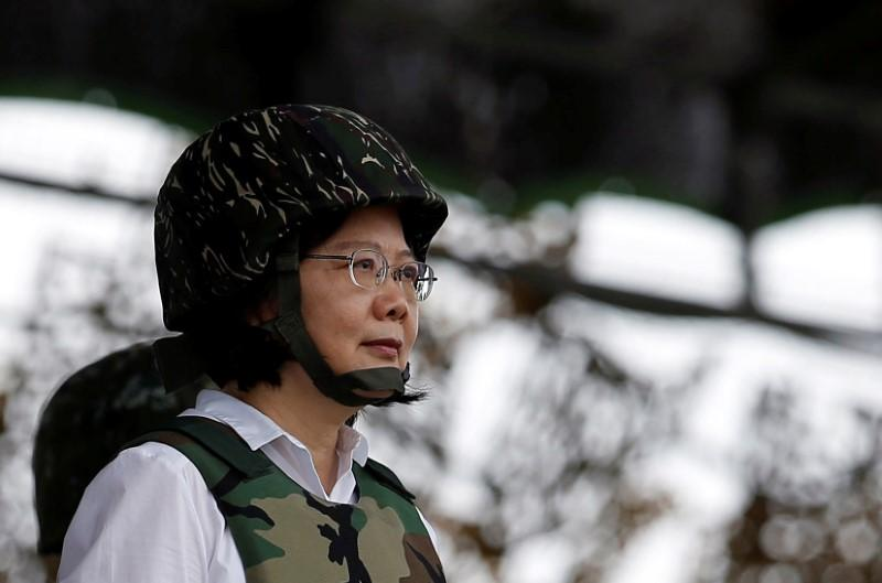Taiwan president tells military graduates being battle-ready keeps the peace