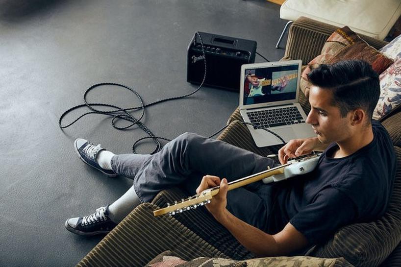 electric guitar maker fender jumps into online learning reuters. Black Bedroom Furniture Sets. Home Design Ideas