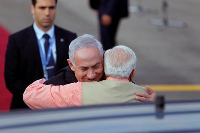 The hug diplomacy