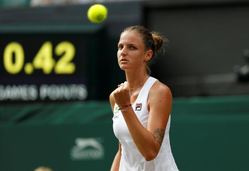 Pliskova becomes Tennis world number one after Halep defeat