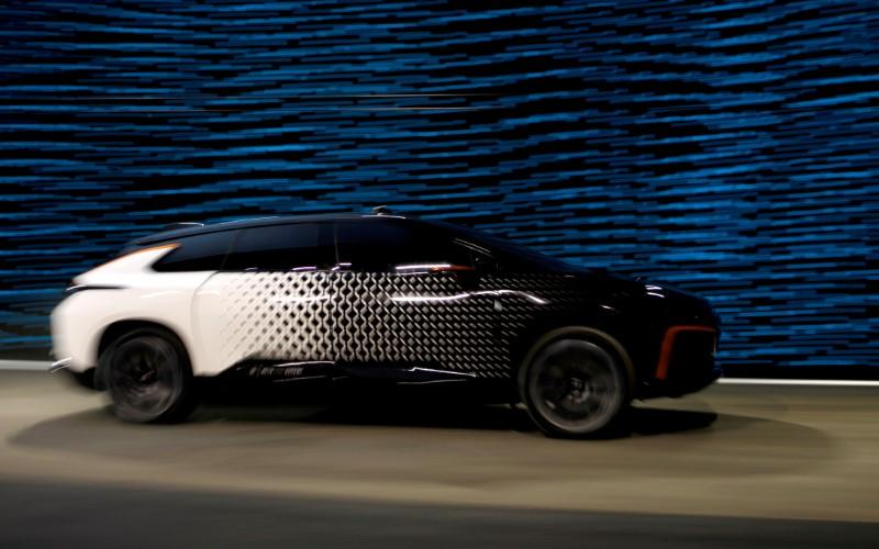 LeEco-backed Faraday Future moves SUV production as work halts on Las Vegas plant