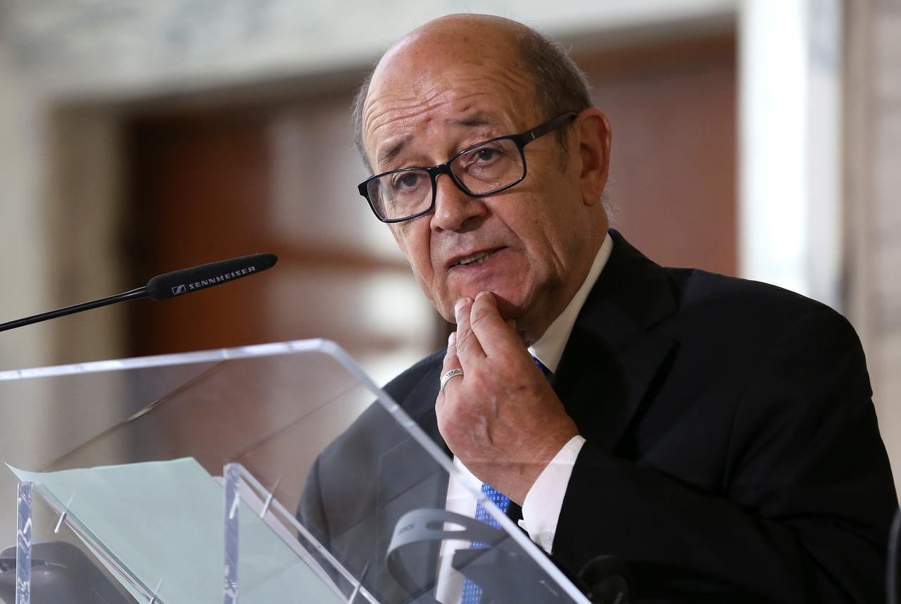 Image result for French Foreign Minister Jean-Yves Le Drian