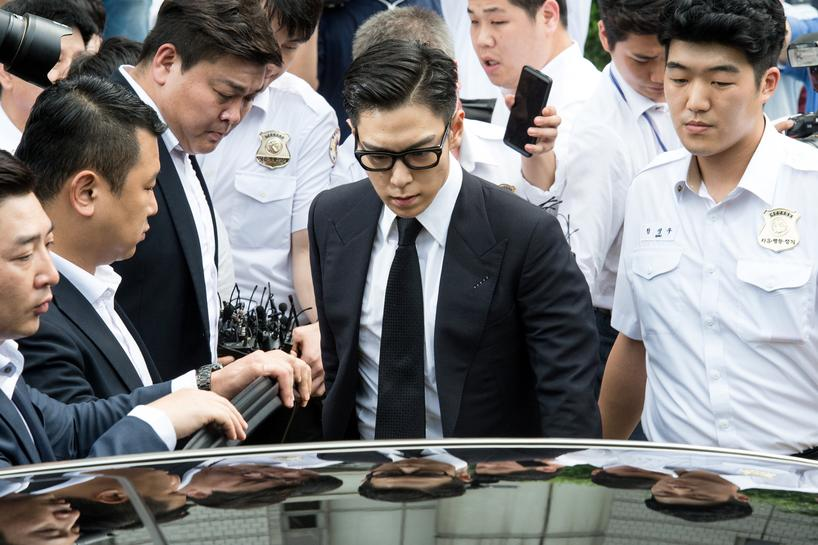 South Korea gives pop idol T O P  suspended jail term for smoking